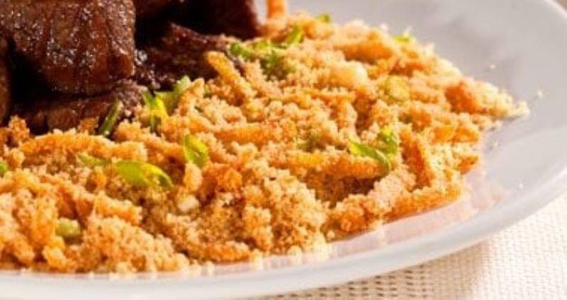 Aprenda a receita de farofa nutritiva para as festas de fim de ano