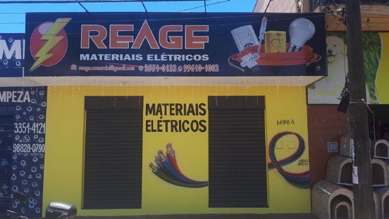 Confira as novidades da loja Reage Materiais Elétricos