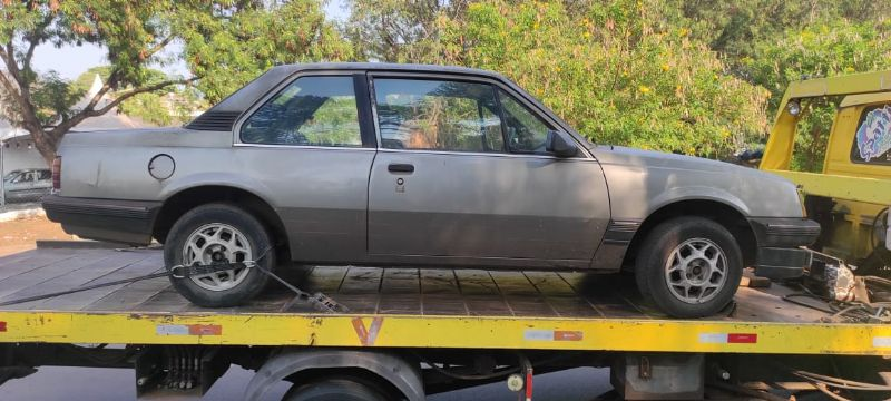 Homem foi preso em flagrante após furtar carro no bairro Narciso Gomes