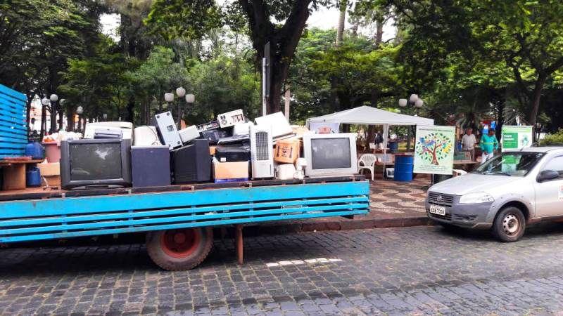 Campanha de descarte de lixo eletrônico acontece neste sábado (09)