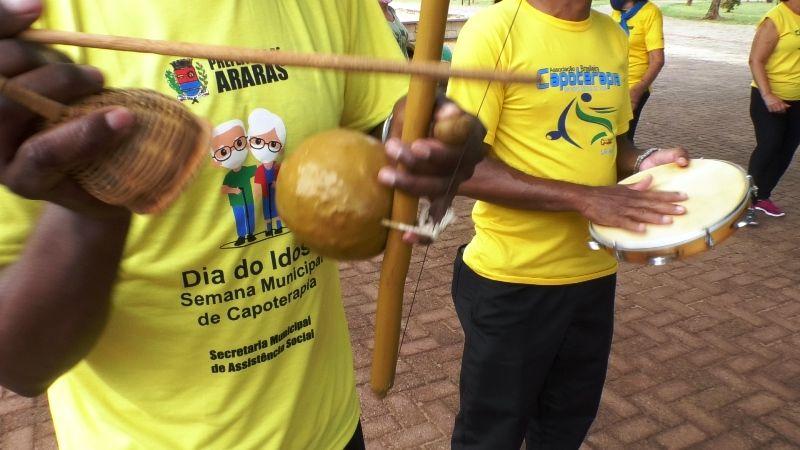 1ª Semana Municipal da Capoterapia e Dia do Idoso termina neste sábado