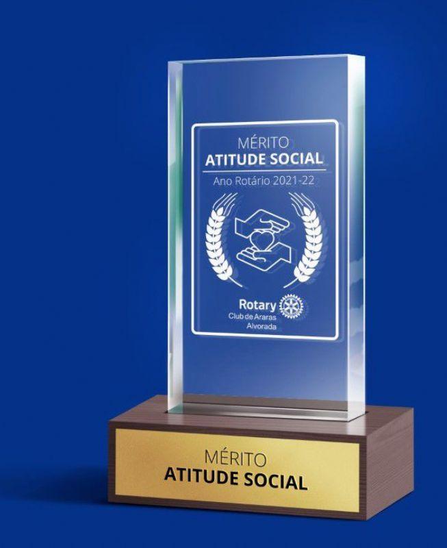 """Rotary Araras Alvorada lança prêmio de """"Atitude Social"""""""