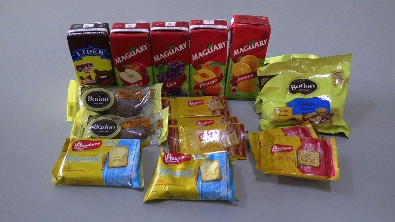 Alunos da Rede Municipal recebem kits alimentares